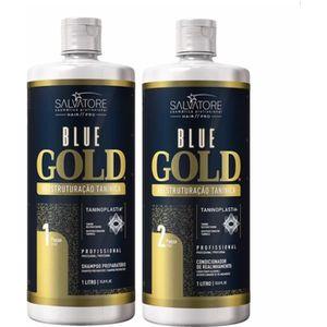 DÉFRISAGE - LISSAGE Salvatore Blue Gold – Tanin - lissage, Lissage au