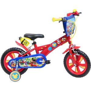 VÉLO ENFANT Vélo garçon MICKEY MOUSE 12 3/4 ans