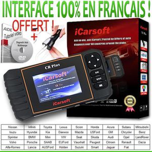 OUTIL DE DIAGNOSTIC ICARSOFT® CR PLUS - DIAGNOSTIQUE AUTO scanner MULT