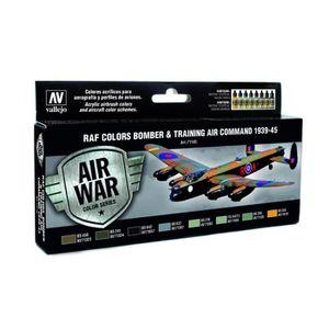 DÉCORATION VÉHICULE (VAL71145) - AV Vallejo Model Air Set - RAF & FAA