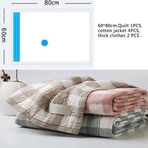 ** 4 x vide Seal sacs 60 x 80 cm NEUF ** vêtements couvertures literie de conservation