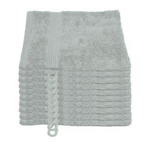 GANT DE TOILETTE Julie Julsen - Lot de 10 gants de toilette 15 cm x
