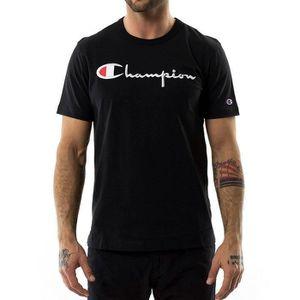 T-SHIRT MAILLOT DE SPORT Champion - Tee Shirt Homme 210972 Noir