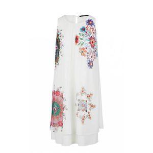 ROBE Desigual Robe femme 19SWVW47 Sacha blanc - Taille