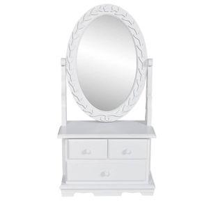 COIFFEUSE Coiffeuse avec miroir Table de maquillage Coiffeus