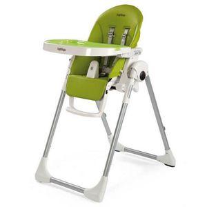 CHAISE HAUTE  PEG PEREGO Chaise Haute Zero3 - Coloris Vert