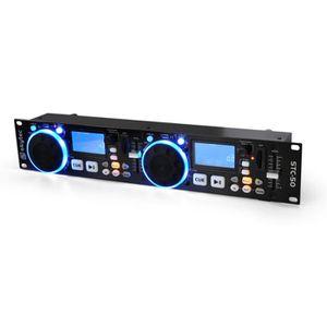 PLATINE DJ STC-50 Contrôleur DJ MP3 2 Decks USB SD Scratching