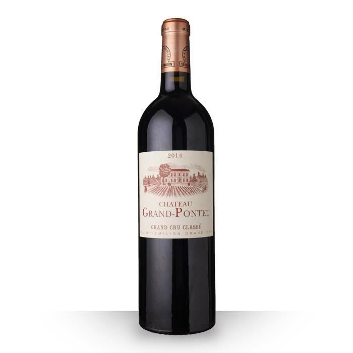 Château Grand-Pontet 2014 Rouge 75cl AOC Saint-Emilion Grand Cru - Vin Rouge