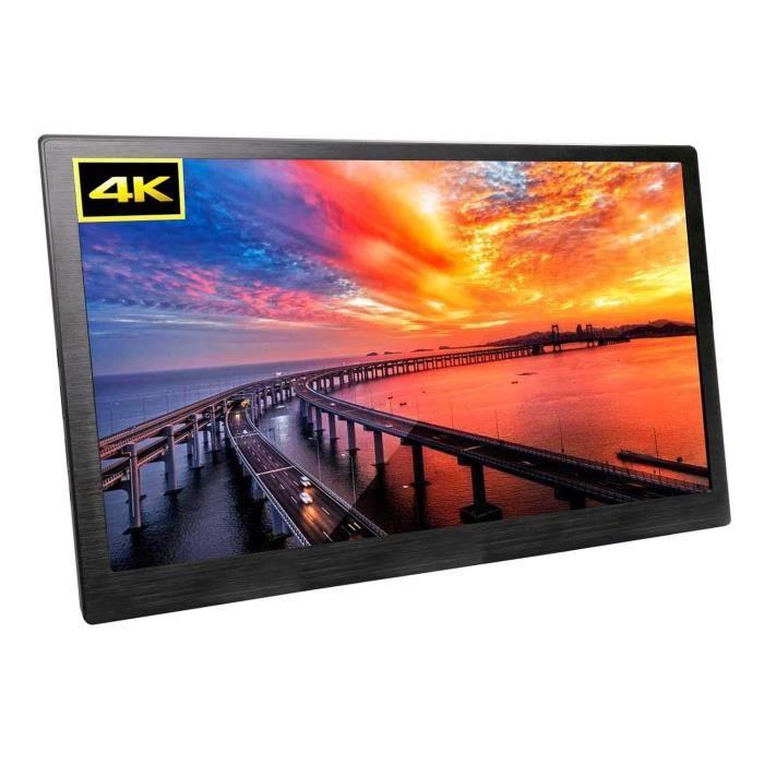 Écrans PC 15,6 Pouces 4K HDR Moniteur UPERFECT IPS 3200x1800 Écran de Jeu Mini HDMI pour PS3 - PS4 - X Box-Raspberry Pi- 998