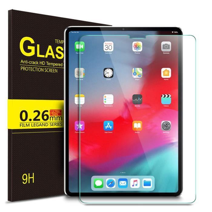 Ivso Ipad Pro 12.9 2018 protection d'écran, tempered Glass film protection d'écran pour Ipad Pro 12.9 2018, Glass