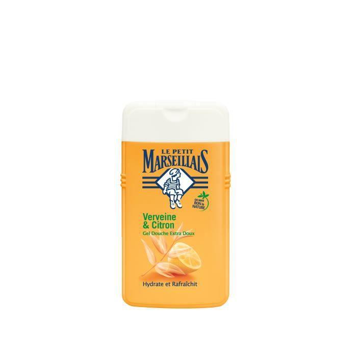 Gel douche verveine citron 250 ml Le petit Marseillais
