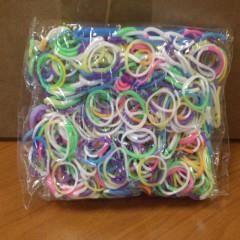 Lot de 600 loom bands tie dye (élastique pour b…