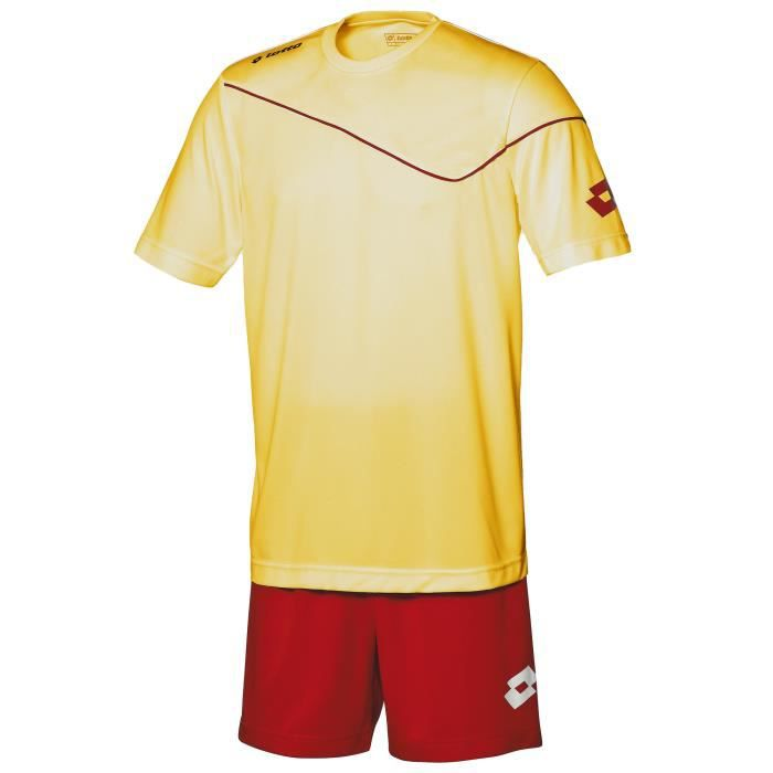 Ensemble football t-shirt à manches courtes et short Lotto Sports Sigma pour homme