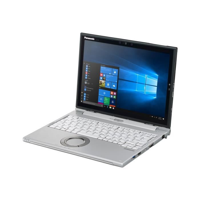 """Panasonic Toughbook Cf Xz6 Tablette avec socle pour clavier Core i5 7300U 2.6 Ghz Win 10 Pro 8 Go Ram 256 Go Ssd 12"""" écran..."""