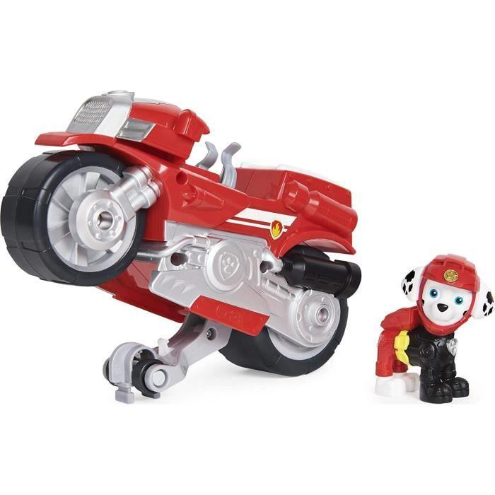 Figurine miniature Spin Master 6060225-20129828 Paw Patrol Moto Pups Marshall