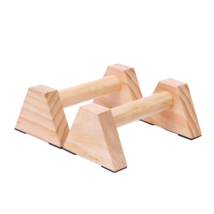 1 paire de barres de push-up portatives personnalisées en pin support extensible de remise en forme APPAREIL ABDO - PLANCHE ABDO