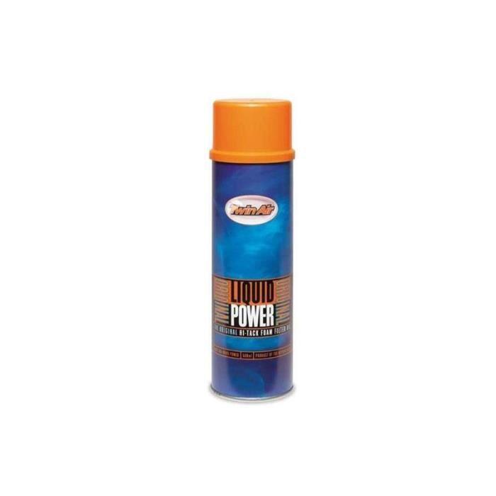 Huile filtre à air TWIN AIR Liquid Power- Spray 500ml