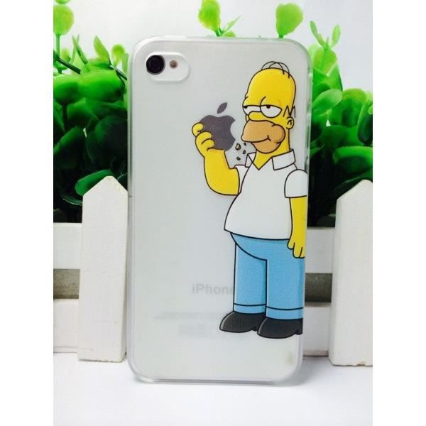 coque iphone x homer simpson