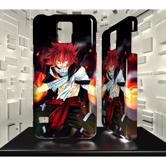 coque samsung galaxy s5 sgs05 018 014 004 fairy tail natsu. Black Bedroom Furniture Sets. Home Design Ideas