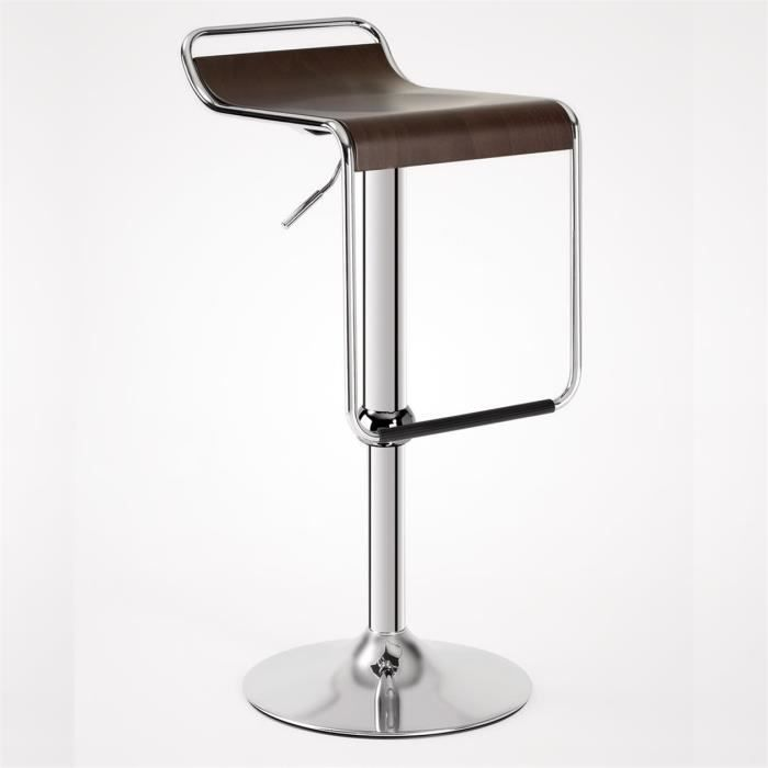 tabouret de bar hauteur reglable maison design. Black Bedroom Furniture Sets. Home Design Ideas