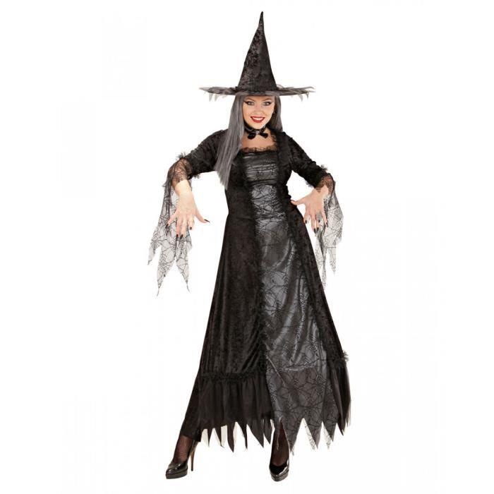 Light Up Costume de sorcière paillettes or cœur toile d/'araignée déguisement 4 5 6 7 8