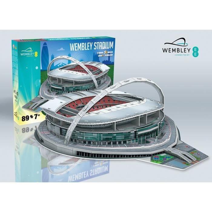 PUZZLE STADE 3D Puzzle Wembley Stadium - WEMBLEY
