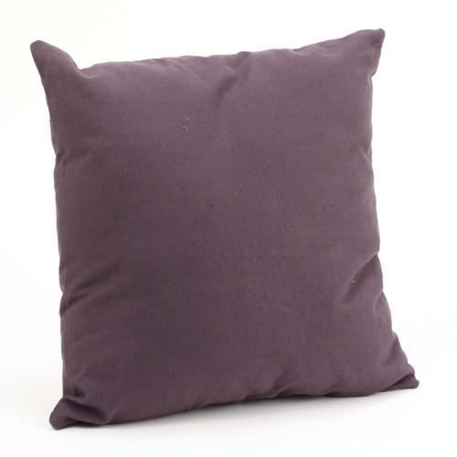 coussin carre dehoussable violet achat vente coussin cdiscount. Black Bedroom Furniture Sets. Home Design Ideas