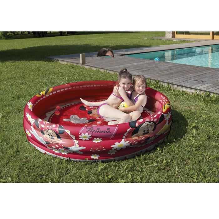 Minnie piscine gonflable achat vente pataugeoire for Achat piscine gonflable