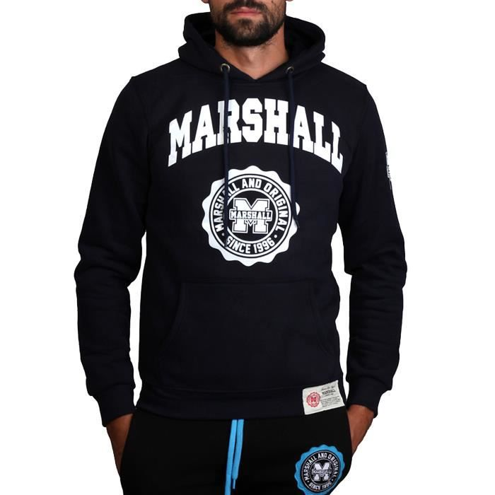 sweat shirt marshall original homme achat vente t shirt cdiscount. Black Bedroom Furniture Sets. Home Design Ideas