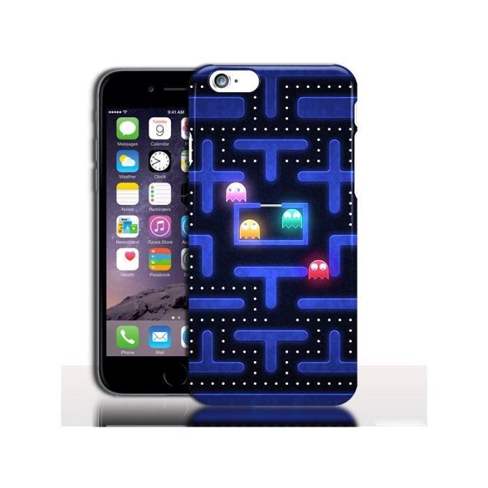 Coque iPhone 7 Pacman ( Rigide / Silicone ) - Appl