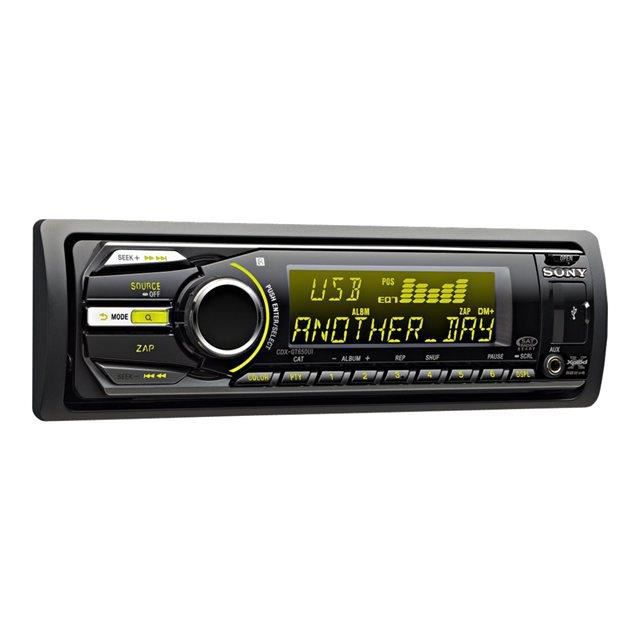 Download this Autoradio Sony Cdx Gtui picture