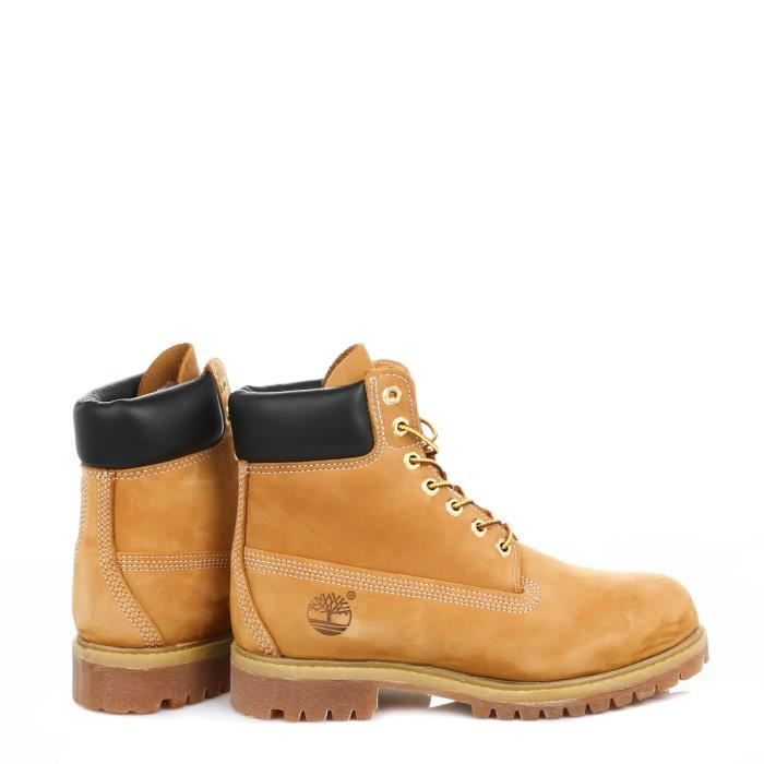 Ankle inch Premium 6 Nubuck Botte Classic Wheat Homme Timberland Cuir qXFAPxq8