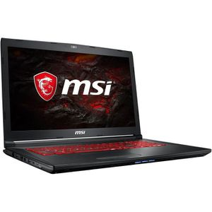 ORDINATEUR PORTABLE PC Portable Gamer - MSI GL72M 7REX - 17,3