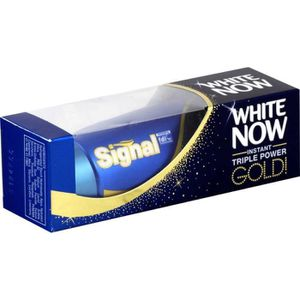 SIGNAL Dentifrice - white now gold - 50ml