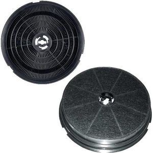 FILTRE POUR HOTTE Filtre charbon rond type 180 CR300 (à l'unité) - H