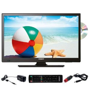 Téléviseur LED ANTARION Téléviseur HD DVD Slim LED 19' 12V 24V 22