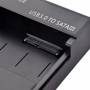 BOITIER POUR COMPOSANT USB 3.0 externe 2,5 3,5 pouces disque dur SATA SSD