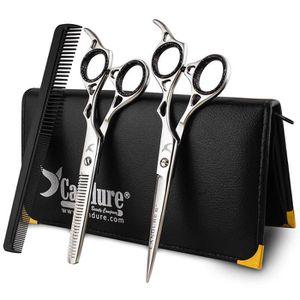 CISEAUX - EFFILEUR Ciseaux de coiffure pour cheveux, ciseaux de salon