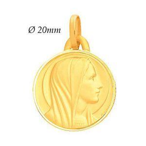 PENDENTIF VENDU SEUL Médaille en OR Jaune 18 carats 750 Millièmes. Mass