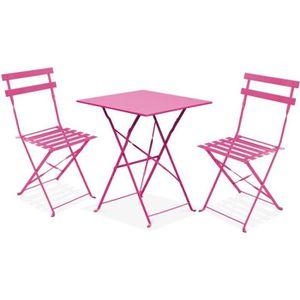 Table carree pliante 60x60