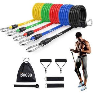 Bandes de Résistance Boucle Kit Poids Maison Fitness Latex Gym Entraînement Set ou Singles