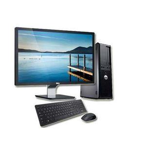 UNITÉ CENTRALE + ÉCRAN DELL OPTIPLEX 780 - 4Go - Windows 7 + Ecran 22
