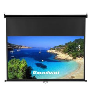 ECRAN DE PROJECTION Ecran de Projection Manuel 100 Pouces 16:9 Excelva
