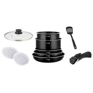 BATTERIE DE CUISINE FAGOR FG8245 Batterie de cuisine 10 pièces - Noir
