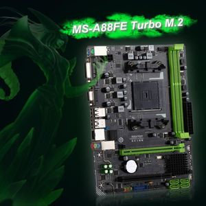 CARTE MÈRE Carte mère MS-A88FE Turbo M.2 Gaming pour AMD A85