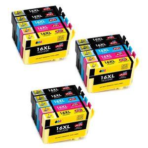 CARTOUCHE IMPRIMANTE 15 Paquets, Compatible pour Cartouche Epson 16 Eps