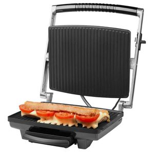 GRILL ÉLECTRIQUE MEDION® Grill contact panini (MD 16832) - 1800 W,