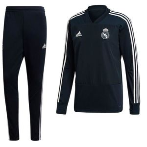 TENUE DE FOOTBALL Real Madrid CF Survetement Football Adidas Trainin 5921ecbdc46d