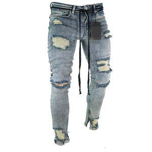 JEANS Jeans troués homme-Gsny09-Tailles: S-M-L-XL-XXL-XX