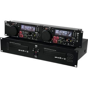 PLATINE DJ  CMP-2000 Lecteur-CD double/mp3 Dual CD/MP3 player